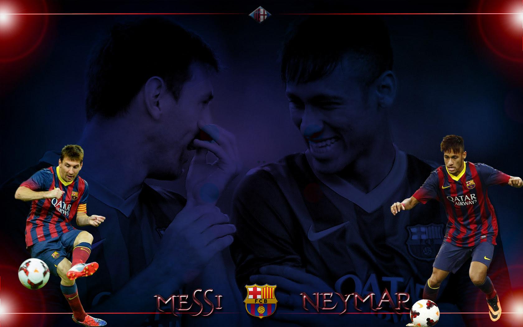 Pc壁紙 メッシ ネイマール バルセロナ サッカー壁紙 自分で作っ