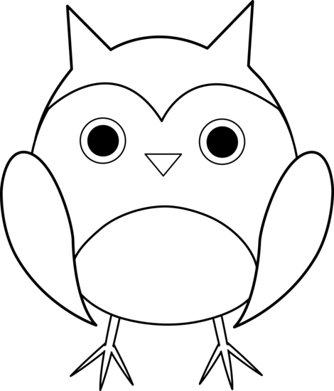 Free Black And White Cartoon Owls Download Free Clip Art Free Clip