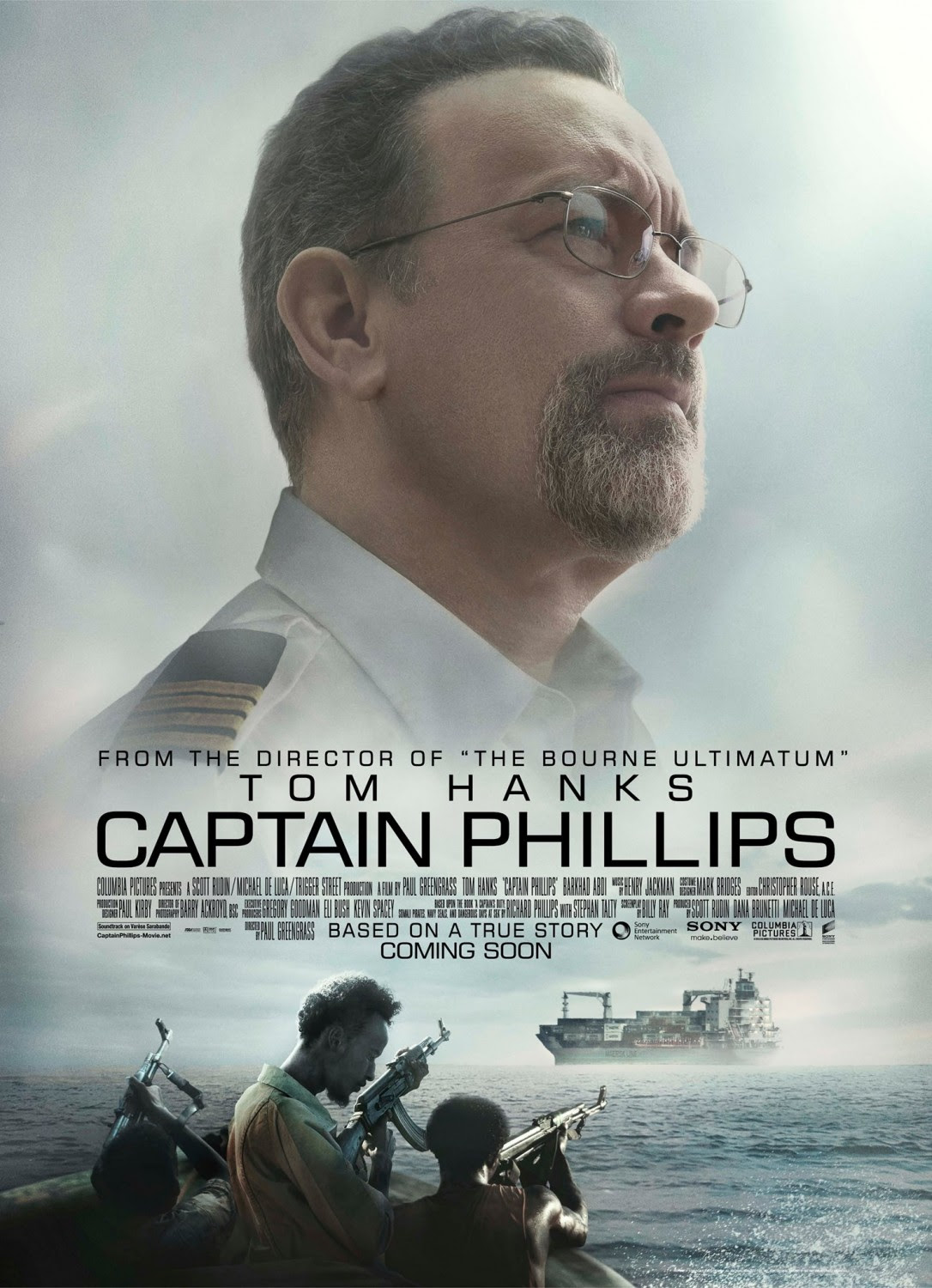 Extra Large Movie Poster Image for Captain Phillips