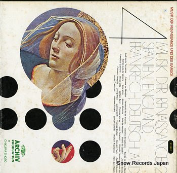 V/A musik der renaissance und des barock