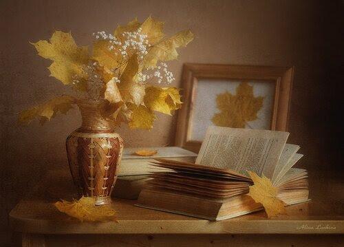 Легкая грусть...осень...