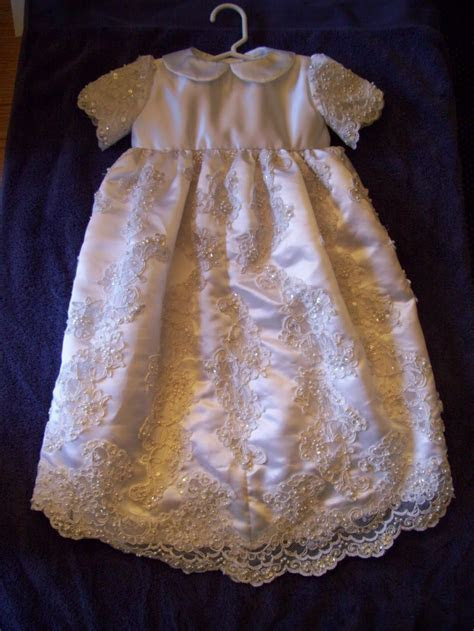 Cutting Cloth: Repurposed Bridal Christening Gown