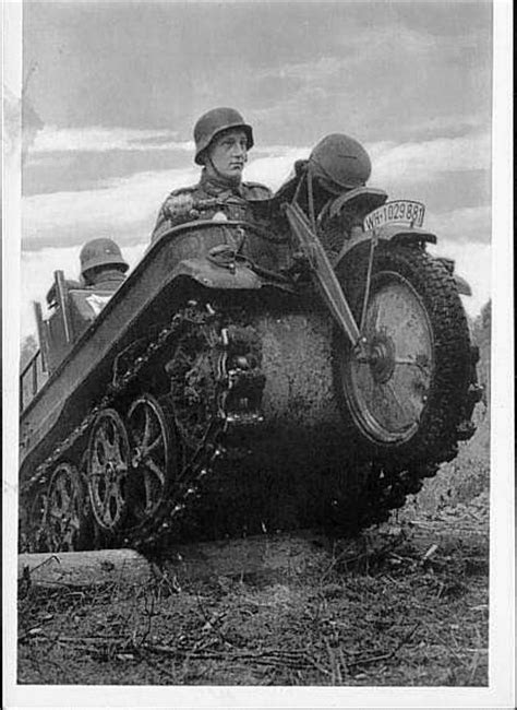 Kettenkrad Motorcycle Tank - (SILODROME)