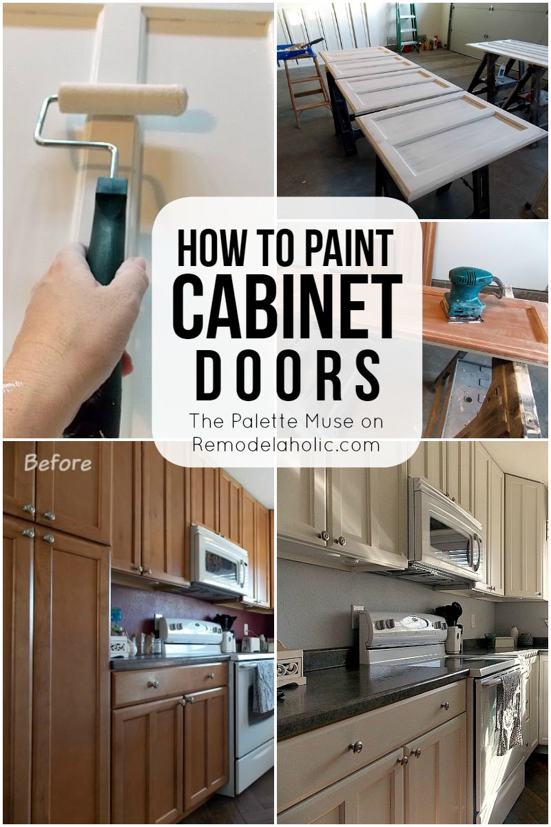 How to Paint Cabinet Doors | Remodelaholic | Bloglovin'