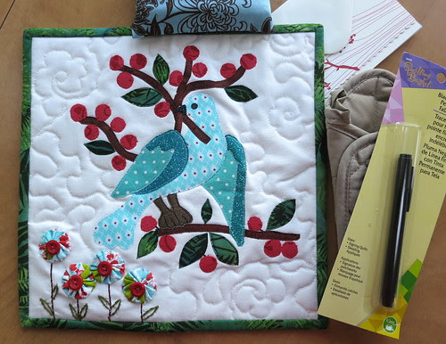 QT quilt and package from Suvarna