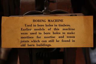 Boring label