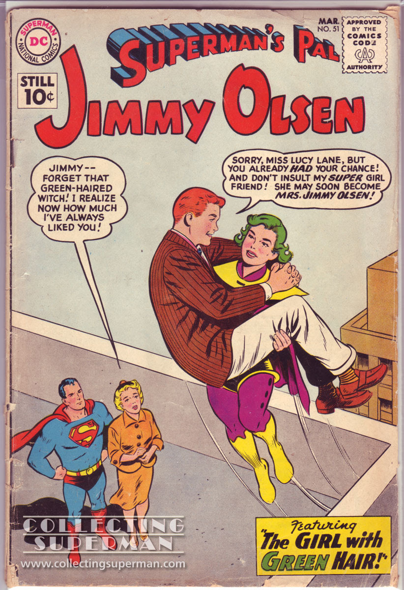 Jimmy Olsen and the Girl with Green Hair
