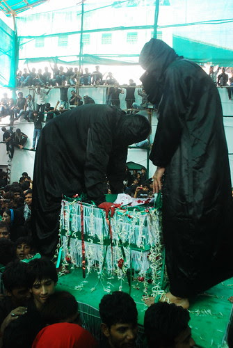 This is the Replica of the Cradle of Ali Asghar 6 Month Old Martyred Son Of Hussain by firoze shakir photographerno1