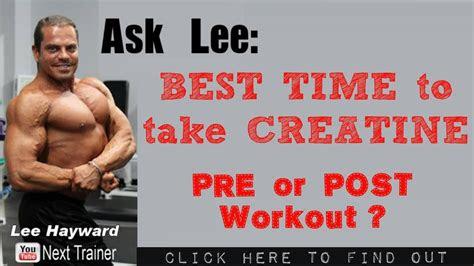 creatine    workout youtube