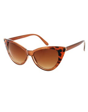 Image 1 of ASOS Cat Eye Sunglasses