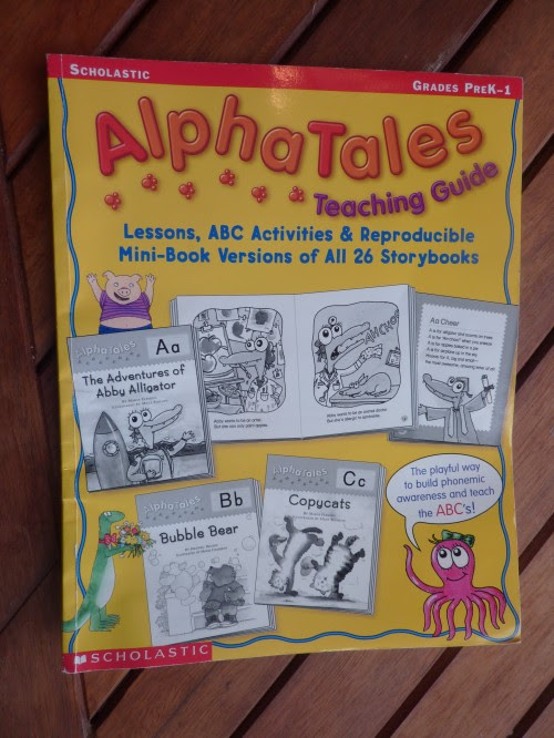 The BIG BOOK OF ALPHA TALES includes a humorous story for each letter.