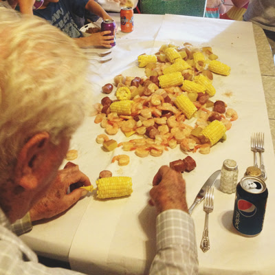 saturday shrimp boil