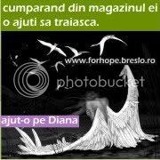 Ajut-o pe Diana in lupta pentru viata!