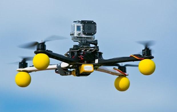 Storm Drone 4 foi criado para funcionar com uma GoPro e custa aproximadamente R$ 2300 no Brasil (Foto: Divulgação)