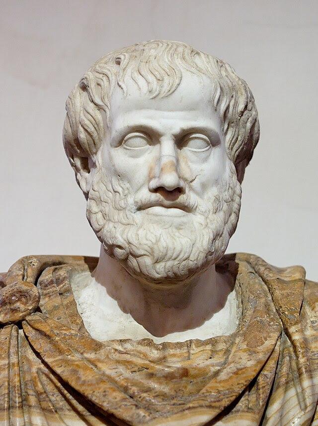 Busto de Aristóteles en Roma