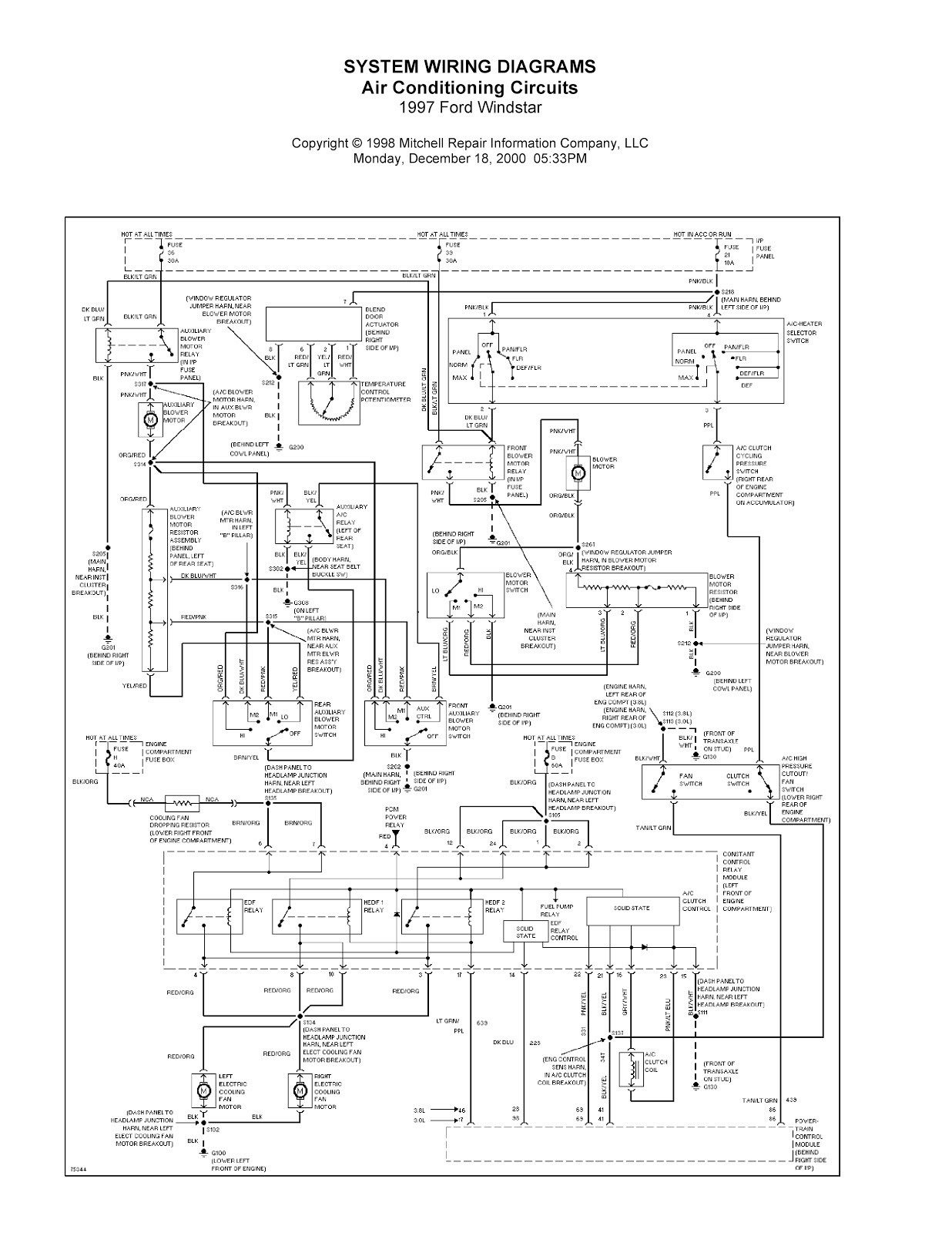 31 2003 Ford Expedition Fuse Box Diagram - Wiring Diagram ...