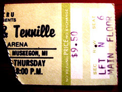Captain and Tennille ticket