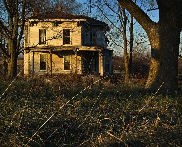 Secluded farm house