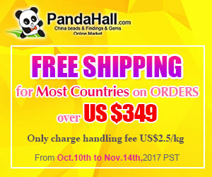 Free Shipping for Most Countries on Orders over $349.Ends on Nov.14th,2017 PST