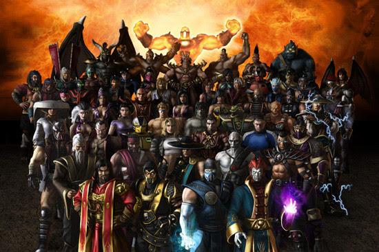 mortal kombat characters. Mortal Kombat