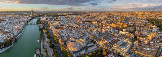 Seville, Spain • AirPano.com • 360° Aerial Panoramas • 3D Virtual Tours Around the World