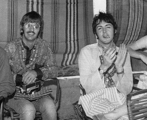 The Beatles in Itea, Greece July 25,1967  by rising70.