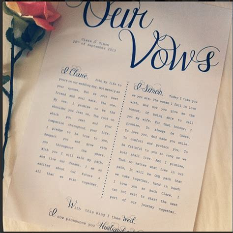 60 Best Wedding Vows Ever for Him or Her