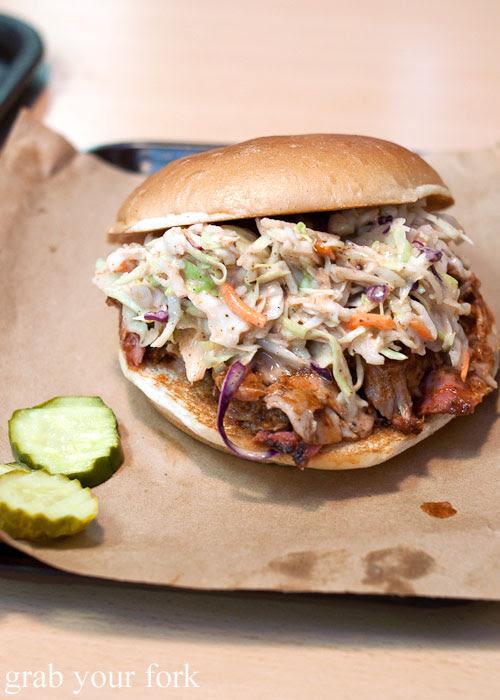 pulled pork Oklahoma Joe's BBQ barbecue meat Kansas City Missouri