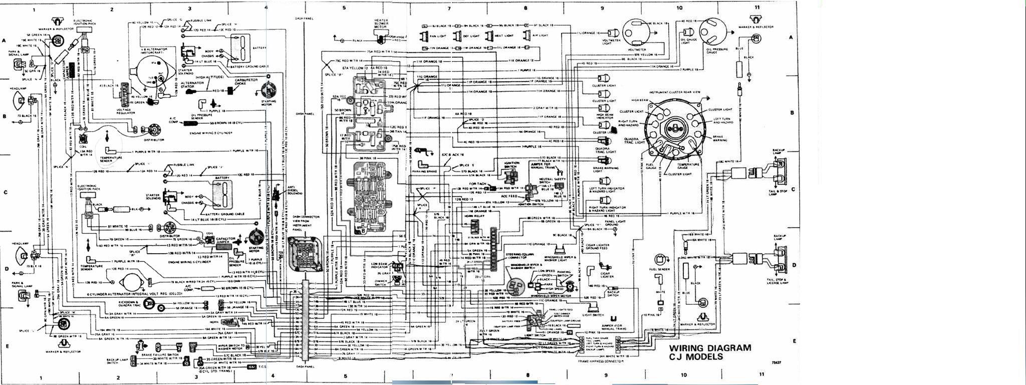 Jeep Cj 1982 Wiring Diagram Wiring Diagram Frankmotors Es