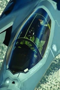 "F-35A AF-4 Lt. Col. Peter ""Shay"" Vitt Edwards AFB"