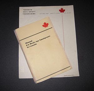 Manual for Draft-Age Immigrants to Canada