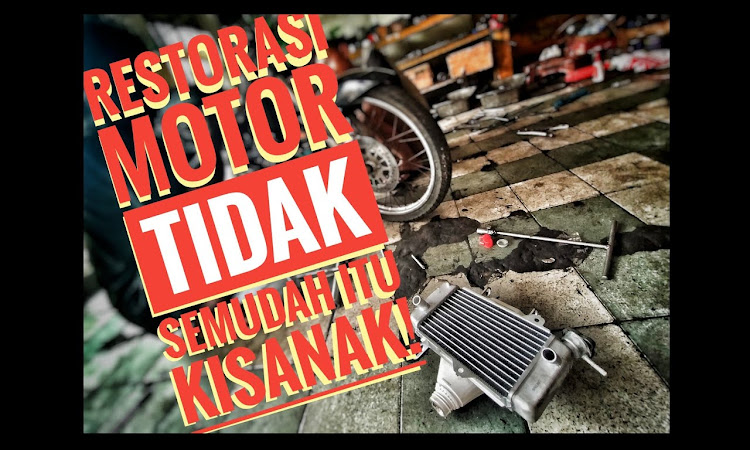 Restorasi Motor Yamaha Jupiter MX Part 1
