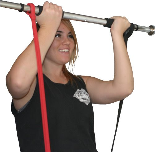 Iron Core Athletics Door Mount Pull Up Bar with Two sets ...
