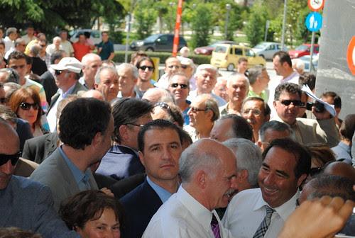 Επίσκεψη Πρωθυπουργού Γιώργου Παπανδρέου στην Κομοτηνή by PIAZZA  del POPOLO.