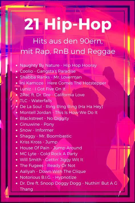 21 Hip Hop Hits der #90er   Die besten #HipHop, #Rap und #