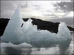 Melting ice, Svalbard, Arctic circle