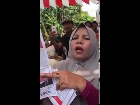 Heboh! Surat Suara 01 Telah Tercoblos Ditemukan Oleh Emak-emak di Bekasi