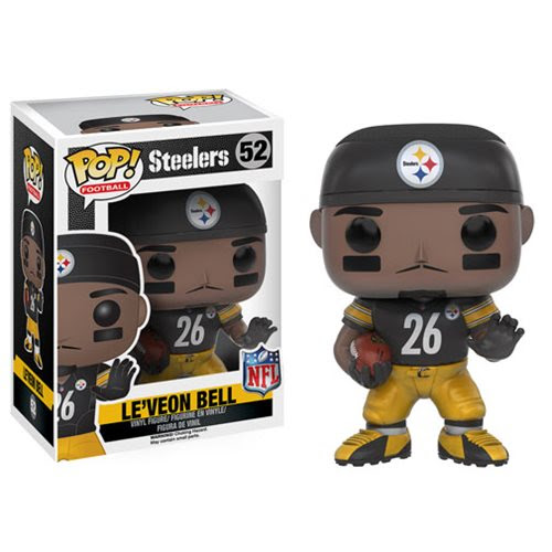 NFL Le'Veon Bell Wave 3 Pop! Vinyl Figure  Funko  Sports: Football  Pop! Vinyl Figures at