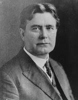 Official portrait of William E. Borah, United States Senator from Idaho, 1907-1940