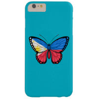 Filipino Butterfly Flag Barely There iPhone 6 Plus Case