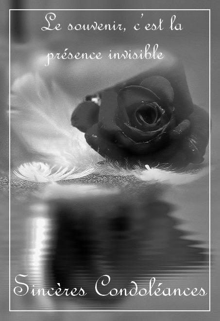 Carte De Condoleances A Imprimer Sans Texte Exemple De Texte