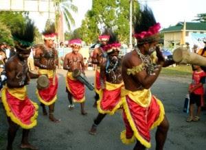 Adat Seni dan Budaya Papua,Alat Musik Tradisional Tifa