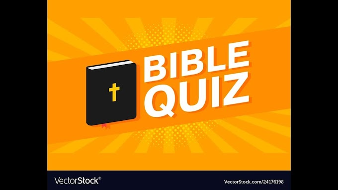 बाइबिल प्रश्नोत्तरी हिंदी में Bible Quiz In Hindi Part - 3