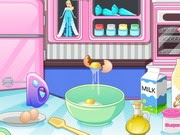 كيفية صنع كعكة إلسا
