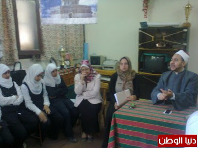 """بالصور ..مركز اعلام ابوتيج  يعقد لقاء ثقافي بعنوان""""الوسطية عنوان التدين"""""""