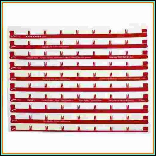 Avery Label Template 11437 - Trovoadasonhos