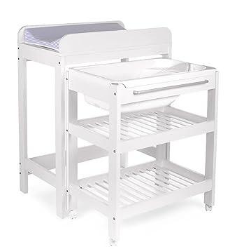 Table A Langer Avec Baignoire Et Place Pour Le Tummy Tub Prices Snrlnoii 42