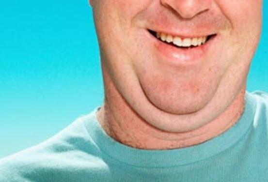 Cara alami menghilangkan lemak di leher