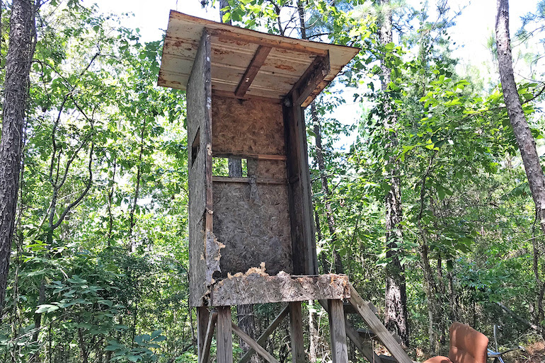 How to Build Elevated Deer Blinds On A Budget - Game & Fish