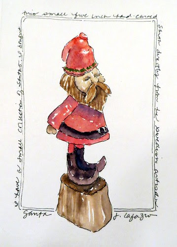 original watercolor card